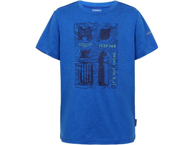 Icepeak Lorch T-shirt Børn, royal blue
